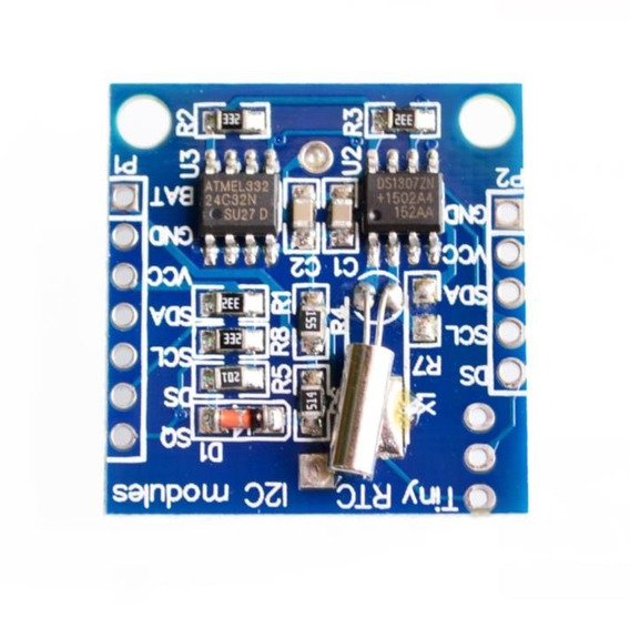 Módulo Rtcds1307 I2c C/eeprom Arduino Pic Clock Time (5 Und)