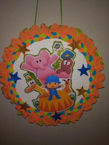 Hermosa Piñata Pocoyo Y Sus Amigos