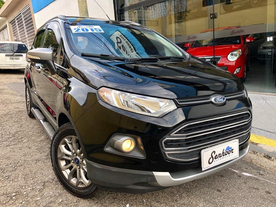 Ford Ecosport 2.0 Freestyle Automática Preto - 2015