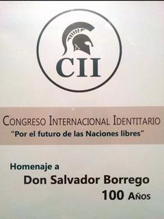 Congreso Internacional Identitario - S Borrego Pedro Varela