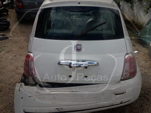 Sucata Fiat 500 2012/2012 - Retirada De Peça