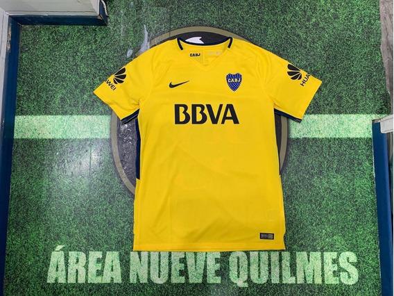 Camiseta Boca Amarila #15 Nandez