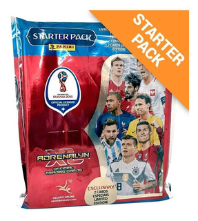 Starter Pack Cards Fifa World Cup Rússia 2018 Adrenaly Xl -