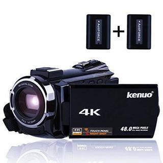 Videocámara Kenuo 4k, Cámara De Vídeo Digital Ultra Hd Hd Po