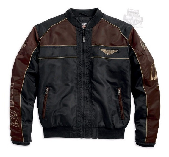 Harley Davidson Jaqueta Masc Original Hex Head Quilted