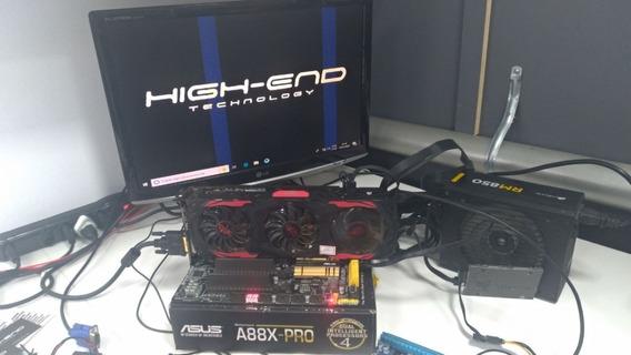 Reparo Conserto Placa De Vídeo Rx 580 / 570 / 480 / 470