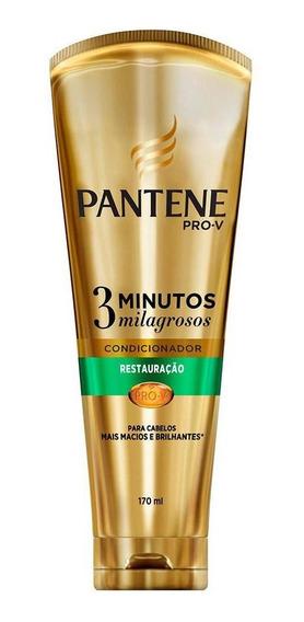 Pantene Condicion 3 Minutos Milagrosos Restauração 170 Ml