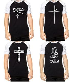 Kit C/10 Camisas Evangelicas Masculina Atacado Revenda