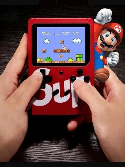 Video Game Portátil, Game Boy + 400 Jogos Retro Nintendo