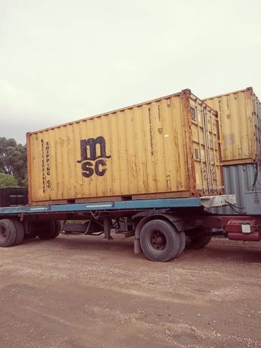 Containers Marítimos Contenedores Usados Cuarenta Pies
