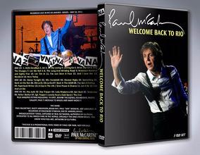 3 Dvds - Paul Mccartney - Live In Rio 2011