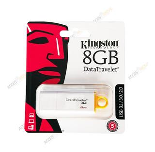 Memoria Usb Kingston Data Traveler G4 8gb 8 Gb 3.1 Por Mayor