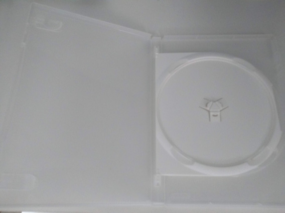 Kit 18 Box Duplo Dvd Amaray. Estojo Caixa Capas Transparente