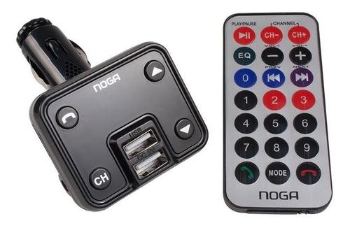Transmisor Bluetooth Auto Reproductor Mp3 Usb Sd Noga Ng25 E