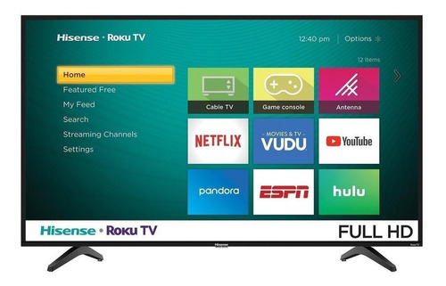 """Imagen 1 de 6 de Smart TV Hisense H4F Series 43H4030F LED Full HD 43"""" 120V"""