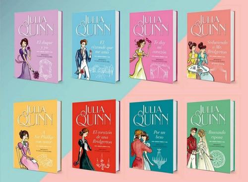 Saga Bridgerton, Julia Quinn Colección Completa 8 Títulos