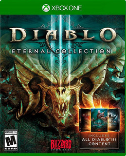Diablo 3 Eternal Collection Xbox One Nuevo