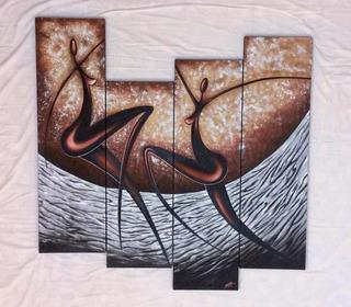 Negritas Africanas Cuadros Decorativos Pintura Al Óleo