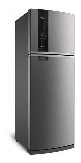 Heladera no frost Whirlpool WRM57 inox con freezer 500L 220V