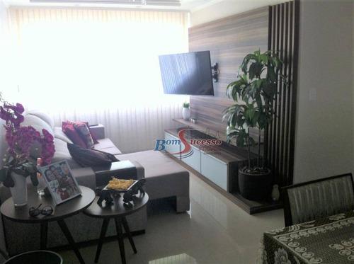 Apartamento Com 2 Dormitórios À Venda, 58 M² Por R$ 470.000,00 - Tatuapé - São Paulo/sp - Ap2478