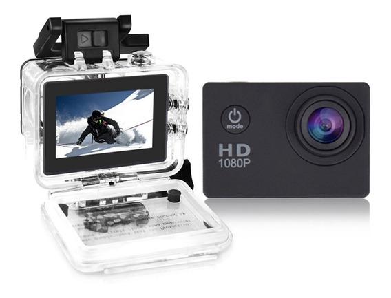 Câmera Filmadora - Hd Dv 1080 P/ Sports Bike Moto