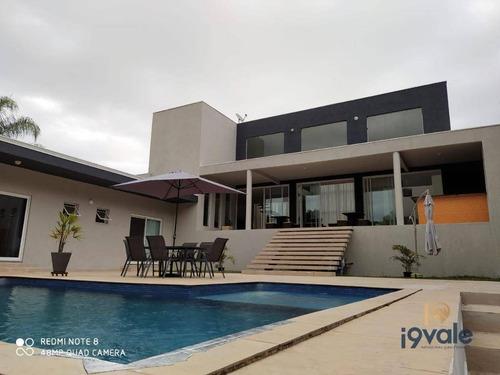 Casa De Luxo À Venda, Qualidade De Vida! Recanto Em Meio A Natureza Em São José Dos Campos-sp - Ca1682