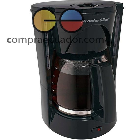 Proctor Silex Cafetera Capacidad 12 Tz. Nivel De Agua Filtro