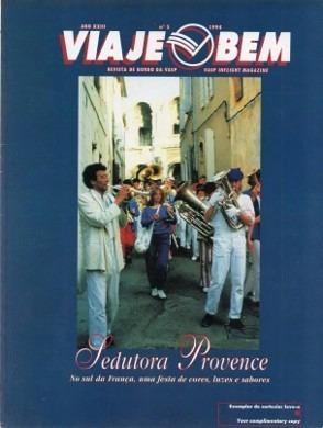 Viaje Bem Vasp 1994 França Provence Atlantic City Ouro Preto