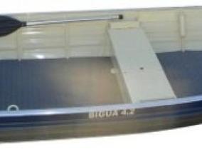 Bote De Aluminio Uai Modelo Bigua 4.20 Mts