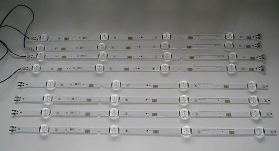 Meio Conjunto (4 Barras) De Leds Samsung Un48j5200ag