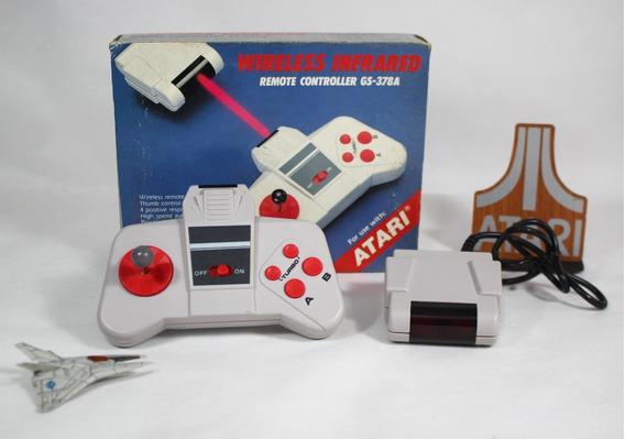 Controle Wirelless [ Atari 2600 / 7800 ] Joystick Novo Caixa