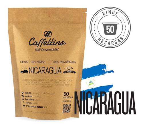 Imagen 1 de 9 de ¼kg Café De Especialidad Nicaragua P/nespresso (50 Usos)