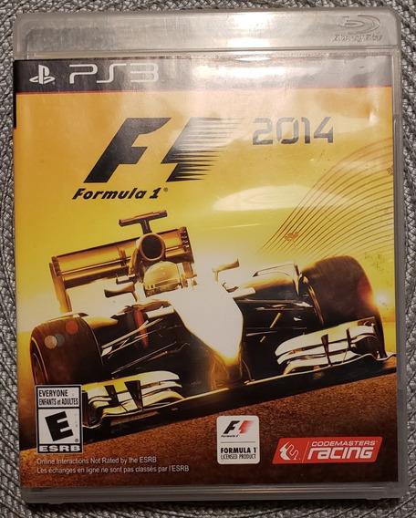 Jogo Ps3 - Fórmula 1 2014