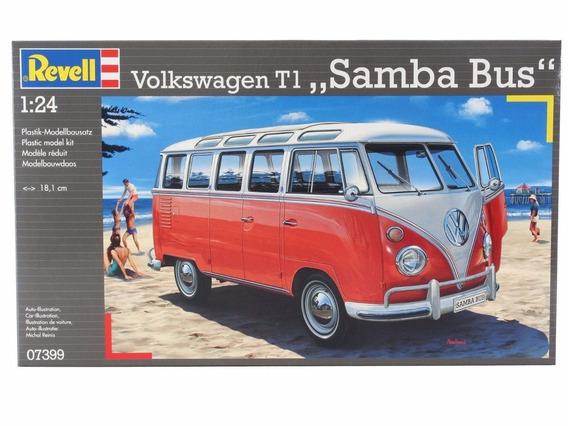 Kit Revell Volkswagen Kombi T1 Samba Bus 1/24 - 07399