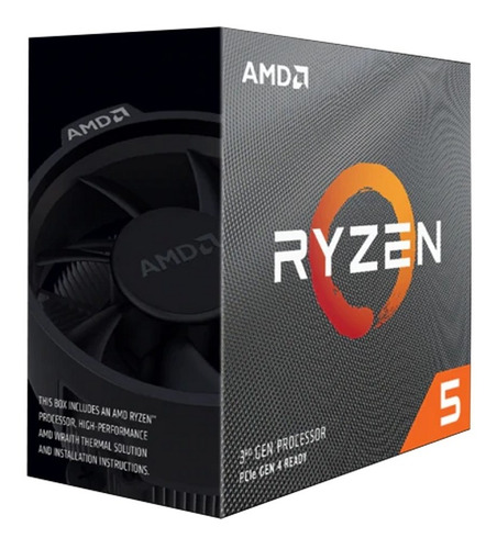 Processador Amd Ryzen 5 3600 Cache 32mb 4.2ghz Am4 S/ Video