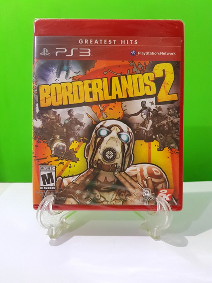 Borderlands 2 Greatest Hits - Ps3 Mídia Física Lacrado