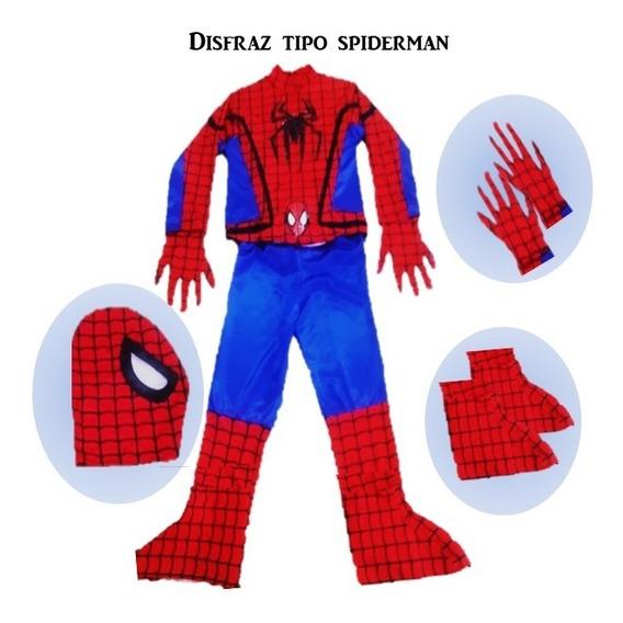 Disfras Tipo Spiderman (hombre Araña)