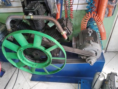Compresor De Bandeja Para Samblasting