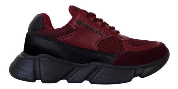 Tênis Chunky Masculino Freeday Multicor Sneaker Ugly Shoes