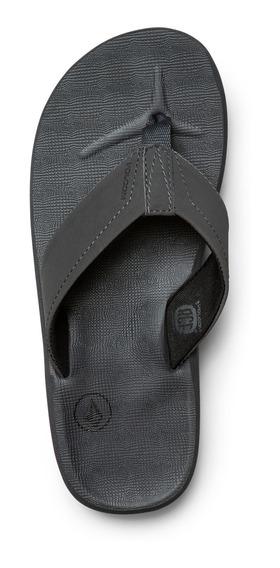 Sandalias De Playa Volcom Victor Flip Flop Moda Juvenil