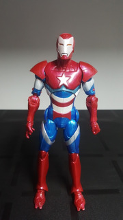 Muñeco Marvel Legends Serie Monger Avengers Iron Man Patriot