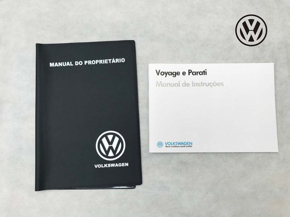 Manual Proprietario Vw Voyage Parati 87 1987 + Capa