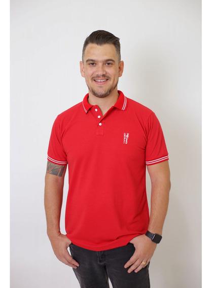 Camisa Polo Vermelho Paixão
