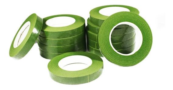 Cinta Floratape - Verde/negro/blanco - Lauacu