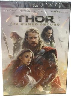 Dvd Original Thor Un Mundo Obscuro Audio Español E+