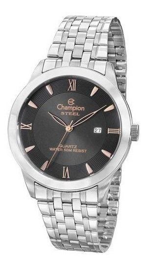Relógio Champion Steel Unissex Analógico Ca21599t