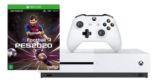 Microsoft Xbox One S 1TB Pro Evolution Soccer 2020 blanco