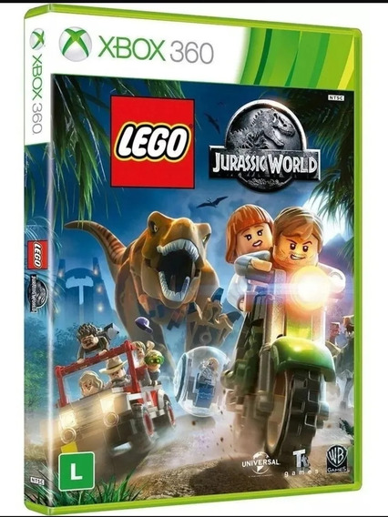 Lego Jurassic World Xbox 360 Mídia Digital,+forza Horizon 2