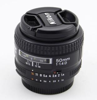 Nikon 50 1.4 Af-d Impecable