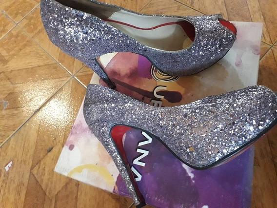 Zapatos De Fiesta Con Brillo